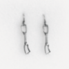 Silver Earrings: Quickdraw antiqued silver - Rock empire - Picture